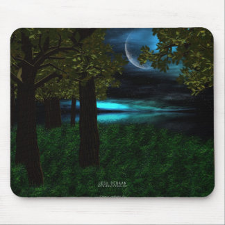 In The Still Of The Night Mouse Mat