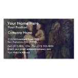 In The Street By Daumier Honoré Double-Sided Standard Business Cards (Pack Of 100)