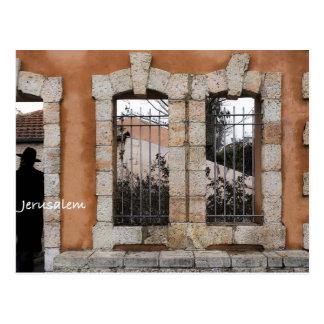 In the streets of jerusalem postcard