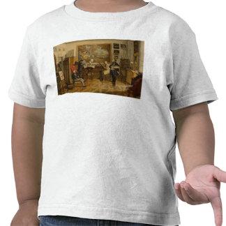 In the Studio of Miklos Barabas Tee Shirt
