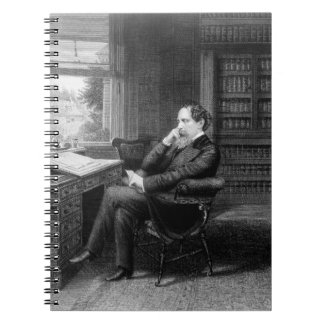 In the Study of Charles Dickens Note Books