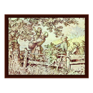 In The Summer By Richter Ludwig Postcards
