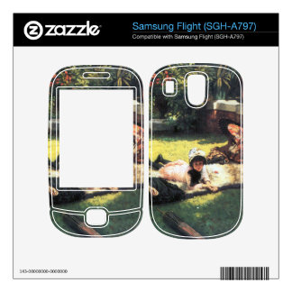 In the sun by James Tissot Skins For Samsung Flight
