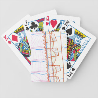 In the suns Precession Bicycle Playing Cards