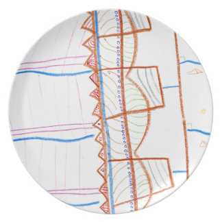 In the suns Precession Dinner Plate
