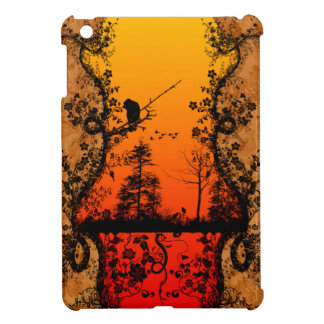 In the sunset iPad mini cover