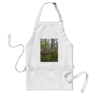In the Swamp Adult Apron