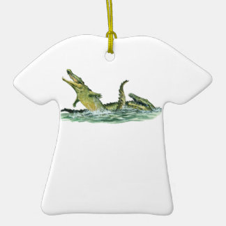 IN THE SWAMPLANDS Double-Sided T-Shirt CERAMIC CHRISTMAS ORNAMENT