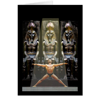 In the Temple of Ramses III Greeting Card