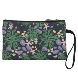 In The Tide Pool Wristlet Wallet