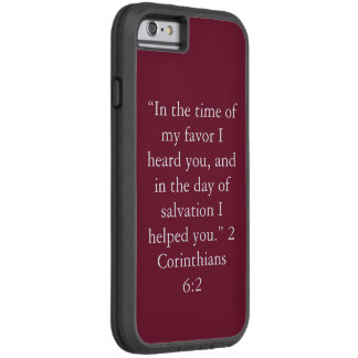 """In the time of my favor"" IPhone6/6S Cell Phone Ca Tough Xtreme iPhone 6 Case"
