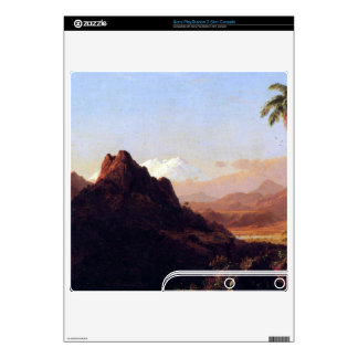 In the tropics by Frederic Edwin Church Decal For The PS3 Slim
