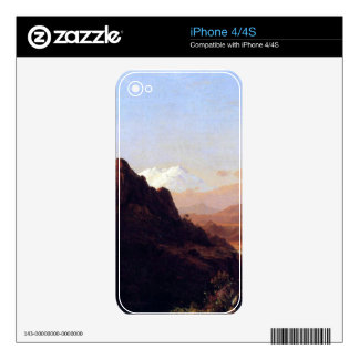 In the tropics by Frederic Edwin Church iPhone 4S Decals