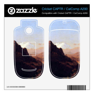 In the tropics by Frederic Edwin Church Skins For Cricket CAPTR