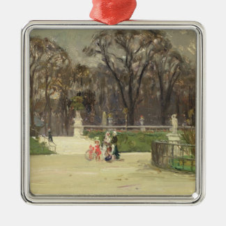 In The Tuileries Metal Ornament