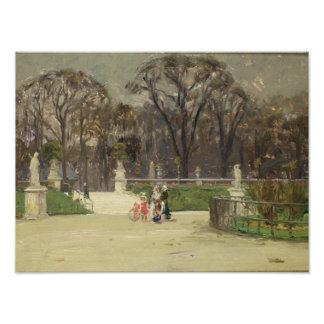 In The Tuileries Poster