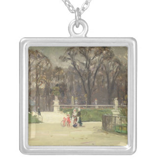 In The Tuileries Silver Plated Necklace