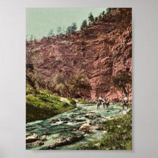 In the Vale of Minne-kah-ta, South Dakota classic Print