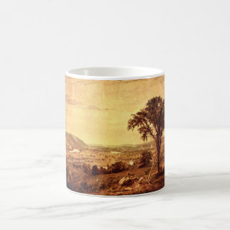 In the Valley', Jasper F. Cropsey._Landscapes Coffee Mug