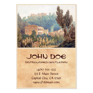 In the Valley near Vietri Joseph Mallord William Large Business Cards (Pack Of 100)