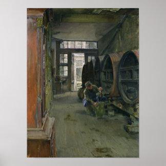 In the Vinegar Factory in Hamburg, 1891 Posters