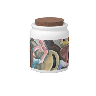 In the Wagon LIne Candy Jar