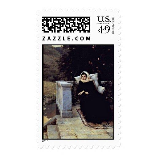 In The Warm Land By Jaroschenko Nikolaj Alexandrow Stamps