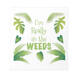 In The Weeds Notepads