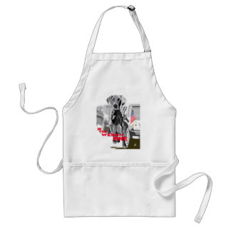 In The Weim Of Fire Adult Apron