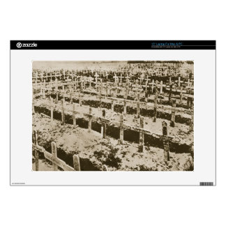 In the West nothing New: A German cemetery in Fran Skin For Laptop