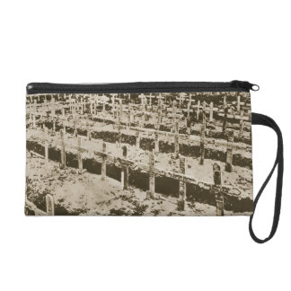 In the West nothing New: A German cemetery in Fran Wristlet Purse