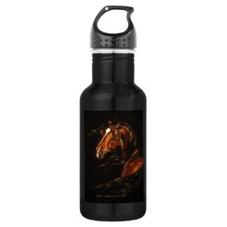 In the wind stainless steel water bottle