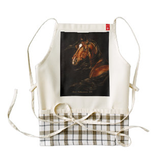 In the Wind Zazzle HEART Apron