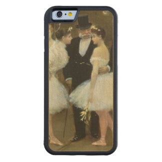 In the Wings at the Opera House, 1889 Carved Maple iPhone 6 Bumper Case