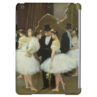 In the Wings at the Opera House, 1889 iPad Air Case
