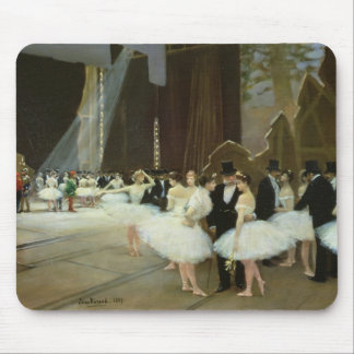 In the Wings at the Opera House, 1889 Mouse Pad