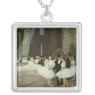In the Wings at the Opera House 1889 Personalized Necklace