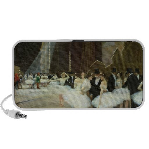 In the Wings at the Opera House, 1889 iPhone Speaker
