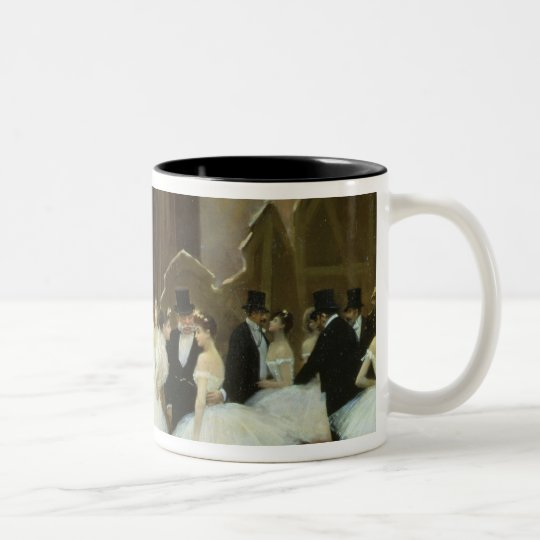 In the Wings at the Opera House, 1889 Two-Tone Coffee Mug