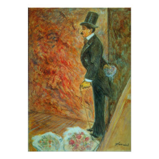 In The Wings by Jean-Louis Forain Poster