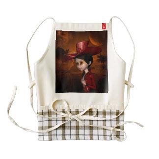 In the wonderful night zazzle HEART apron