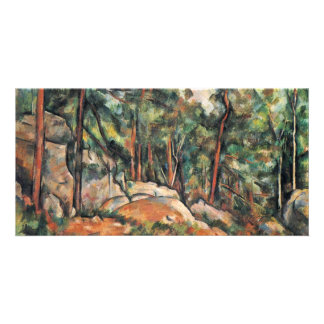 In The Woods By Paul Cézanne (Best Quality) Photo Greeting Card