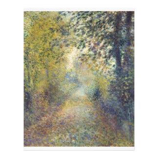 In the Woods by Pierre-Auguste Renoir Flyer