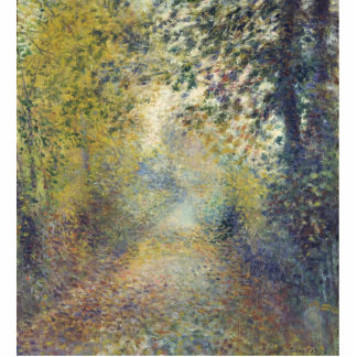 In the Woods by Pierre-Auguste Renoir Acrylic Cut Out