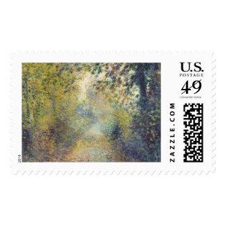 In the Woods by Pierre-Auguste Renoir Postage