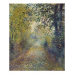 In the Woods by Pierre-Auguste Renoir Poster