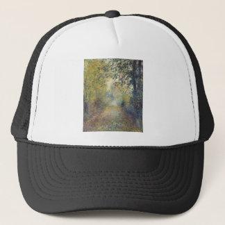 In the Woods by Pierre-Auguste Renoir Trucker Hat