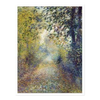 In the Woods by Renoir Postcard