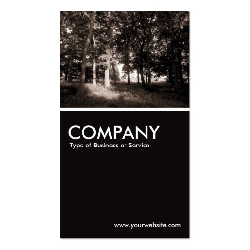 In The Woods II Business Card