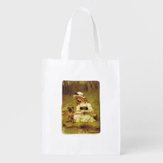 In the Woods Reusable Bag Market Tote